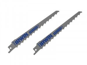 IRWIN, Wood & Plastics Fast Cutting Reciprocating Blades