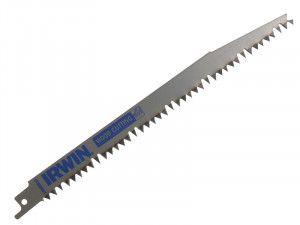 IRWIN Sabre Saw Blade S1131L 225mm Wood & Plastics Pack of 5