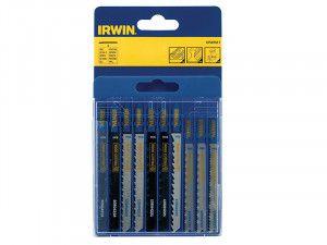 IRWIN Jigsaw Blade Set Assorted 10 Piece Set