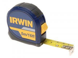 IRWIN Standard Pocket Tape 5m/16ft (Width 19mm) Carded