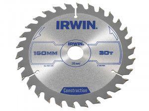 IRWIN, Corded Construction Circular Saw Blade