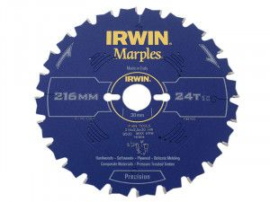 IRWIN, Precision Marples Table & Mitre Circular Saw Blade