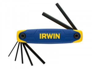 IRWIN Hex Key Folding Set of 7: 2.0 - 8.0mm