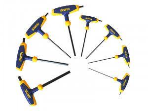 IRWIN T Handle Hex Key Set of 8: 2-10mm