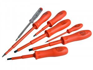 ITL Insulated Insulated Screwdriver Set of 7