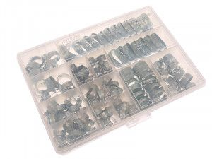 Jubilee® Workshop Pack 143 Assorted Hose Clips (Mild Steel)