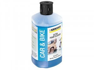 Karcher Ultra Foam Cleaner 3-in-1 Plug & Clean (1 Litre)
