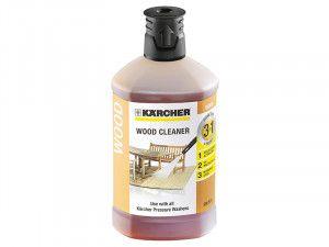 Karcher Wood Cleaner 3-In-1 Plug & Clean (1 Litre)