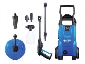 Kew Nilfisk Alto C110.7-5 PCA X-TRA Pressure Washer with Patio Cleaner & Brush 110 Bar 240V