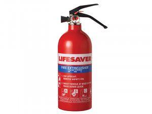 Kidde Lifesaver Multi-Purpose Fire Extinguisher 1.0kg ABC