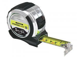 Komelon PowerBlade Tape 5m/16ft (Width 27mm) & Pencils