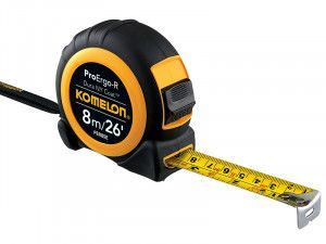 Komelon Superior ProErgo-R Pocket Tape 8m/26ft (Width 25mm)