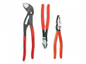 Knipex Power Pack High Leverage Plier Set 3 Piece
