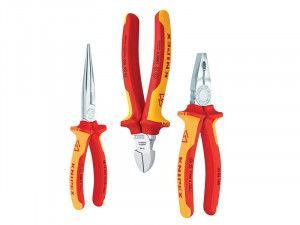 Knipex Elektro Pack VDE Certified Pliers Set 3 Piece