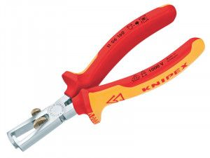 Knipex VDE Insulation Wire Stripping Pliers Certified Grip 160mm