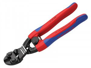 Knipex CoBolt® Compact Bolt Cutter 20° Head Multi-Component Grip 200mm (8in)