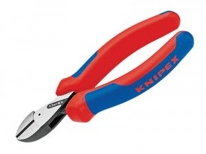 Knipex X-Cut Compact Diagonal Cutters Multi-Component Grip 160mm (6.1/4in)