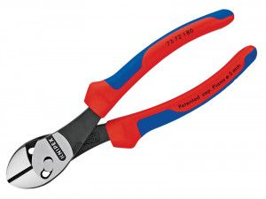 Knipex Twinforce Side Cutter Multi-Component Grip 180mm (7in)