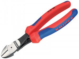 Knipex, Diagonal Cutters High Leverage Comfort Grip 74 02
