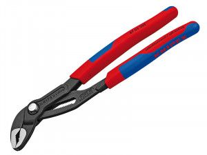 Knipex Cobra® Waterpump Pliers Multi-Component Grip 250mm - 46mm Capacity