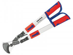 Knipex Ratchet Telescopic Cable Cutter 770mm (30.1/4in)