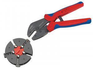 Knipex Multicrimp® Pliers Set - 3 Quick Change Cartridges
