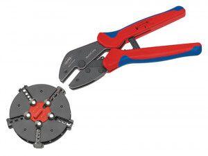 Knipex Multicrimp® Pliers Set - 5 Quick Change Cartridges