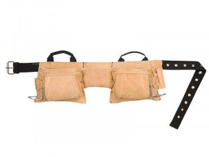 Kuny's AP-527X Heavy-Duty Leather Work Apron 12 Pocket