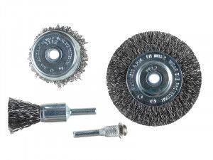 KWB Wire Brush Set, 4 Piece