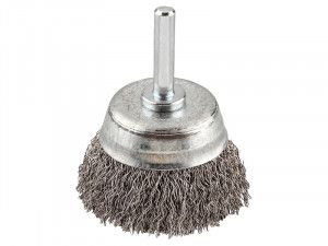 KWB, HSS Crimped Cup Brush Coarse
