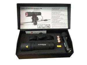Ledlenser P7 Professional Torch With Pressure Switch & Gun Mount
