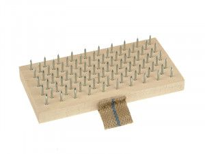 Lessmann Plasterers Brush 190 x 95mm (Steel Pins)