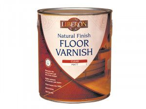 Liberon, Natural Finish Floor Varnish
