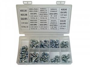 Lumatic Grease Nipple Selection Box Metric