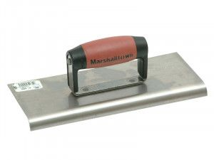 Marshalltown M192SS Cement Edger Stainless Steel Durasoft® Handle 10 x 4in