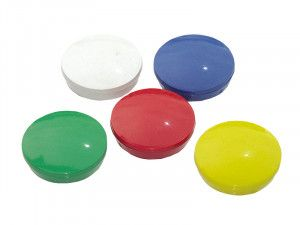 E-Magnets 640 Planning Magnets 30mm (Pack of 5)