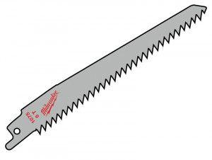 Milwaukee SAWZALL® Sabre Blade Wood/Plastic 150mm 6 tpi (3)