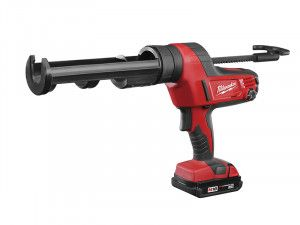 Milwaukee C18 PCG/310C Caulking Gun 310ml 18V 1 x 2.0Ah Li-Ion