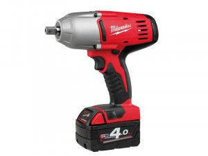 Milwaukee HD18 HIW-402 Pin Dedent 1/2in Impact Wrench 18V 2 x 4.0Ah Li-Ion