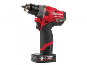 Milwaukee M12 FDD-602X FUEL™ Drill Driver 12V 2 x 6.0Ah Li-ion