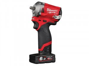 Milwaukee, M12 FIW38 FUEL™ 3/8in Impact Wrench