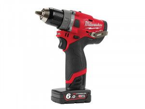 Milwaukee M12 FPD-602X FUEL™ Sub Compact Percussion Drill 12V 2 x 6.0Ah Li-ion