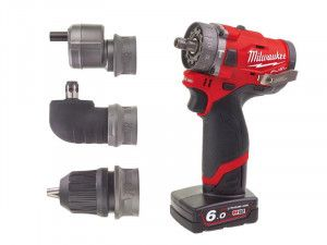 Milwaukee M12 FPDXKIT-602X Fuel™ 3-in-1 Sub Compact Percussion Drill