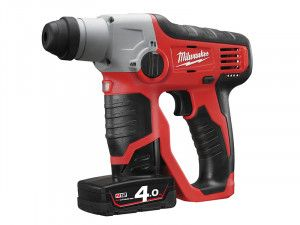 Milwaukee, M12 H Compact Cordless SDS 2 Mode Hammer 12 Volt