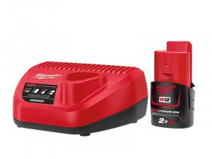 Milwaukee M12 NRG-201 Energy Kit 12V 1 x 2.0Ah Li-Ion