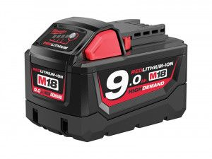 Milwaukee M18 B9 REDLITHIUM-ION™ Slide Battery Pack 18V 9.0Ah Li-Ion