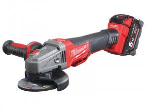 Milwaukee, M18 CAG 115XPDB Fuel™ Brushless Angle Grinder