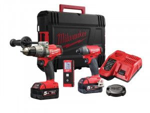 Milwaukee M18 FPDKIT-502 FUEL™ Triple Pack 18V 2 x 5.0Ah Li-ion