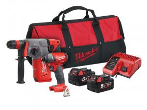 Milwaukee M18 FPP2AC-502 FUEL™ Twin Pack 18V 2 x 5.0Ah Li-ion