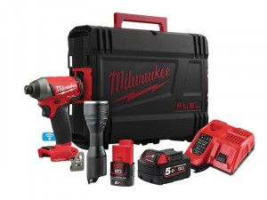 Milwaukee M18 ONEPP2L-522X FUEL™ ONE-KEY™ Twin Pack 18V 1 x 5.0Ah, 12V 1 x 2.0Ah